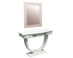 Рабочий стол стилиста+зеркало ВИНТАЖ