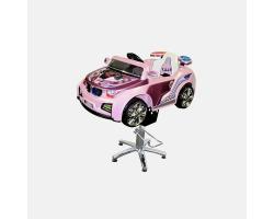 Детское парикмахерское кресло Машинка B-518