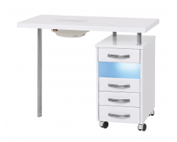 Маникюрный стол МЦ-029 с УФО и пылесосом