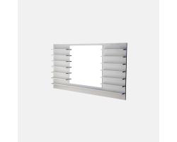 Зеркало с полочками для лаков Accantonare