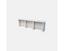 Маникюрный стол с каретной стяжкой Bella