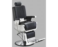 """Мужское парикмахерское кресло """"А300"""" Черное"""